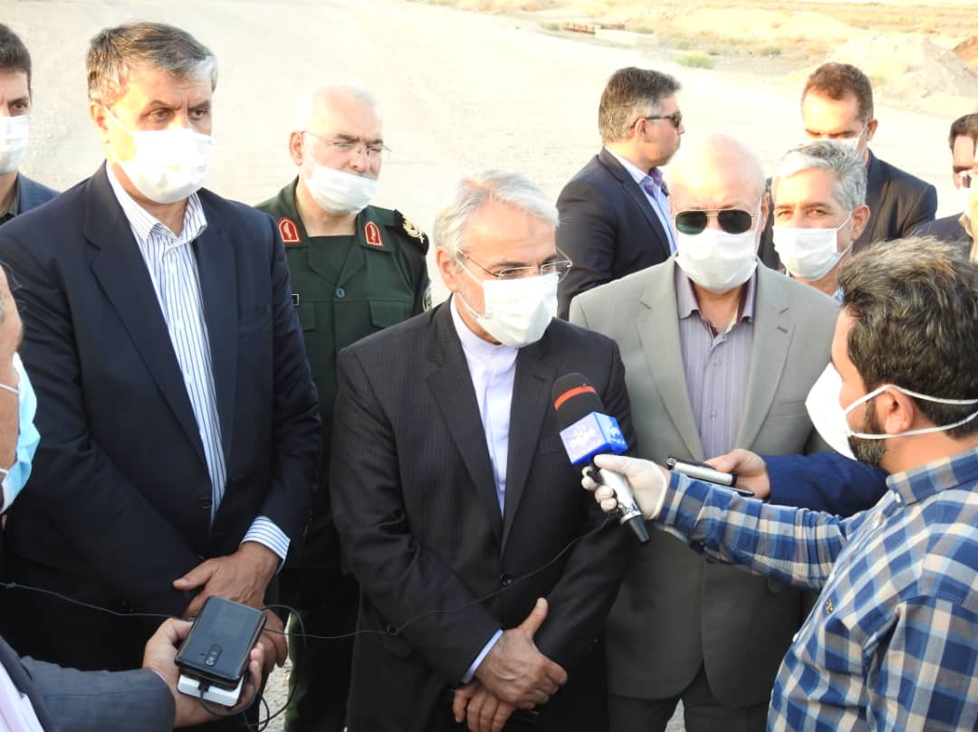 Head of the Plan and Budget organization arrived in Isfahan