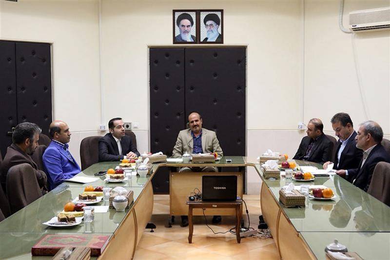 The Head of National Cartographic Center of Iran Visits Administration and Planning Organization of Isfahan Province.